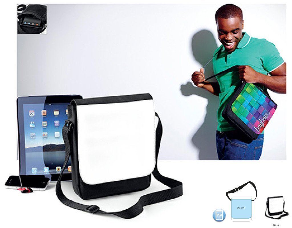 BG963 Sublimation Digital Reporter - Borsa per tablet personalizzabile